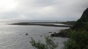 Fajã de Santo Cristo on São Jorge Island